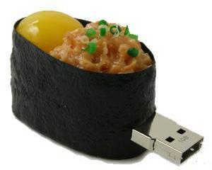 Sushi Memory Stick with Egg