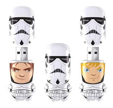 Unmasked Stormtroopers Flash Drives
